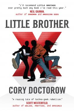 Cover of Cory Doctorow's novel Little Brother